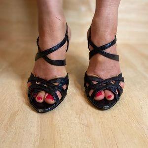 Linea Paolo Black Heels